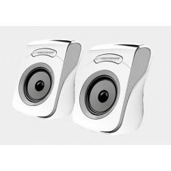Głośniki komputerowe USB 2.0 Esperanza Flamenco biało-czarne