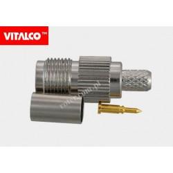 Gniazdo RTNC na kabel H155 zaciskane Vitalco ET44