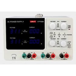 Zasilacz laboratoryjny Unit 2x32V+1x5V/3A UTP3303