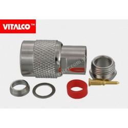 Wtyk TNC na kabel 59U skręcany Vitalco ET22