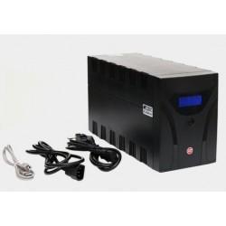 UPS 2200VA/1200W 2xIEC+2xSchuko GT POWERbox
