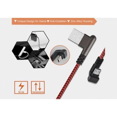 Przyłącze USB-mikro USB 0,8m DSF601 Talvico