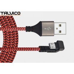Przyłącze USB-mikro USB 0,8m DSF600 Talvico