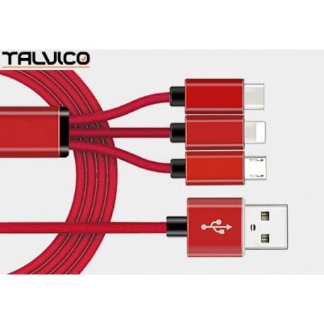 Przyłącze USB uniwersalne do smartphonów 1,0m DSKU700 Talvico
