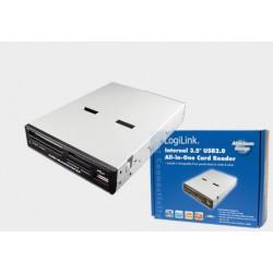 """Wewn. czytnik kart pamięci 3,5"""" USB 2.0 Logilink"""