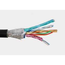 Przewód HDMI czarny (rolka 30,5m)