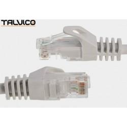 Patch cord FTP kat.5e CCA 2,0m szary 5P45