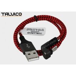 Przyłącze USB-mikro USB 0,5m 2A max DSF600 Talvico
