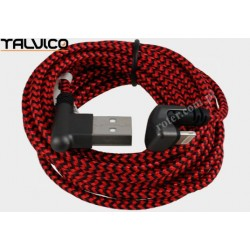 Przyłącze wtyk USB/wtyk 8p 3,0m 2A max DSKU603 Talvico