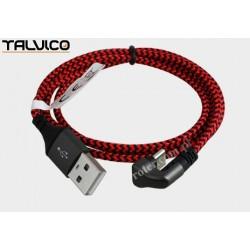 Przyłącze wtyk USB A/wtyk USB C 1,0m DSKU382 Talvico
