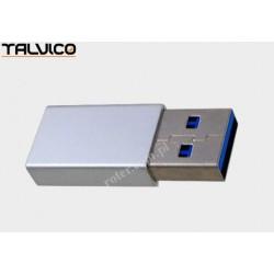 Adapter wtyk USB 3,0/gniazdo USB C Talvico