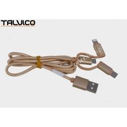Przyłącze USB uniwersalne do smartphonów 1,0m DSKU705 Talvico
