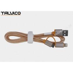 Przyłącze wtyk USB/wtyk 8p+wtyk mikro USB 1,0m DSKU695 Talvico