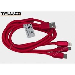 Przyłącze USB do ładowania smartphonów 1,2m DSKU706 Talvico