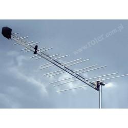 Antena TV Barczak Log 2-65 bez wzmacniacza