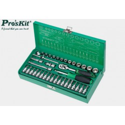 """Zestaw kluczy 38x 1/4"""" SK-23801M Proskit"""