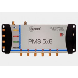 Multiswitch 5/6 Opticum/Globo PMS