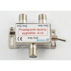 Przełącznik konwerterów/anten ręczny