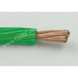 Przewód zasilający 1*8,31mm 8GA, zielony szpula 50m