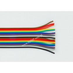 Przewód taśmowy kolor, 20*0,12