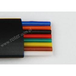 Przewód telefoniczny 8C, czarny Cu (rolka 100m)