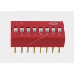 Mikroprzełącznik DIP 8pin