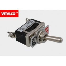 Przeł. dźwigniowy 2pin/2poz on-off VS5365 Vitalco PRV010