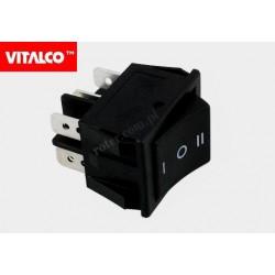 Przeł. kołyskowy 6pin/3poz on-off-on VS5423C Vitalco PRV410