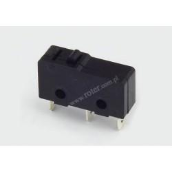Przełącznik krańcowy mini bez dźwigni MSW-11