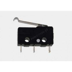 Przełącznik krańcowy mini z krótką dźwignią