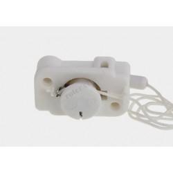 Przełącznik sznurkowy 2A biały