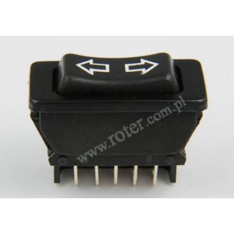 Przełącznik samochodowy do szyb elektrycznych (on)-off-(on)