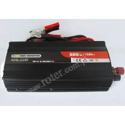 Przetwornica 12V DC / 230V AC / 800W