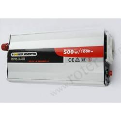 Przetwornica 24V DC / 230V AC / 500W