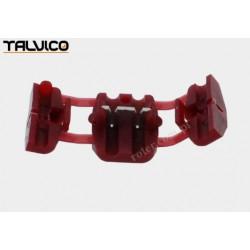 Szybkozłącze samochodowe czerwone 0,5-0,75mm