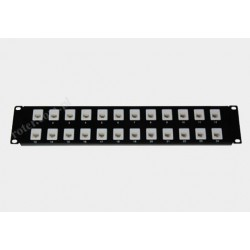 Patch panel kat.5e 24 porty P24