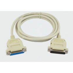 Przyłącze RS232 wt.25-gn.25 5.0m DSK06