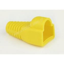 Osłona wtyku 8P8C, żółta