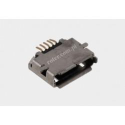 Gniazdo mikro USB AB montażowe