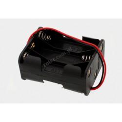 Pojemnik na baterie 6*R6 3+3