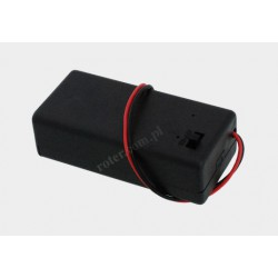 Pojemnik na baterie 9V z pokrywą