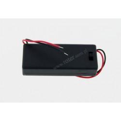 Pojemnik na baterie R3x2 z pokrywą
