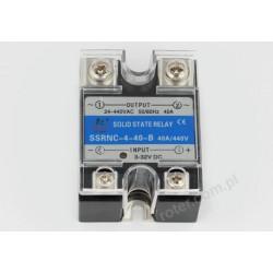 Przekaźnik półprzewodnikowy 40A SSRNC-4-40-B