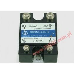 Przekaźnik półprzewodnikowy 80A SSRNC-4-80-B