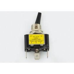 Przeł. podświetlany ASW-07D żółty RoHS