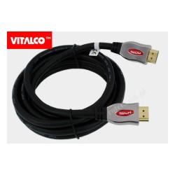 Przyłącze ultra HDMI ver. 2.0 2,5m/28awg blister HDK60 Vitalco