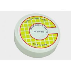 Taśma izolacyjna PVC 18.3m biała