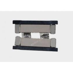 Konektor 2-żyłowy końcowy do taśm jednokolorowych 10mm szerokich