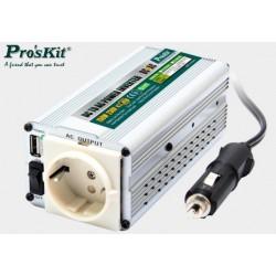Przetwornica 12V/230V 150W USB TE-1201UB Proskit