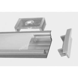 Profil LED TC-30/10/1m / klosz, 2 x uchwyt, 2 x zaślepka